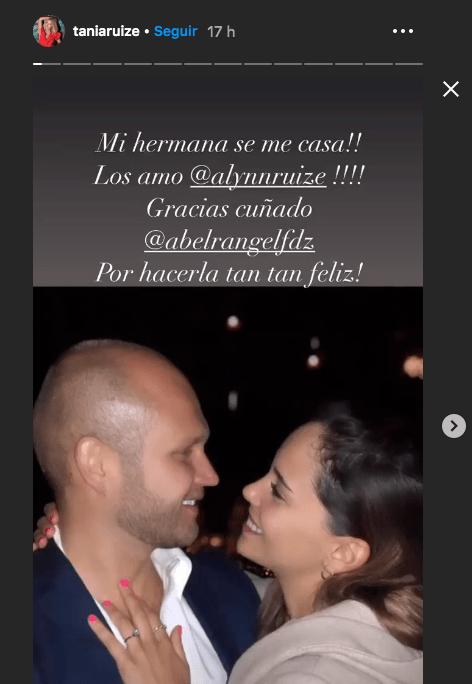 Tania Ruiz y su hermana en instagram