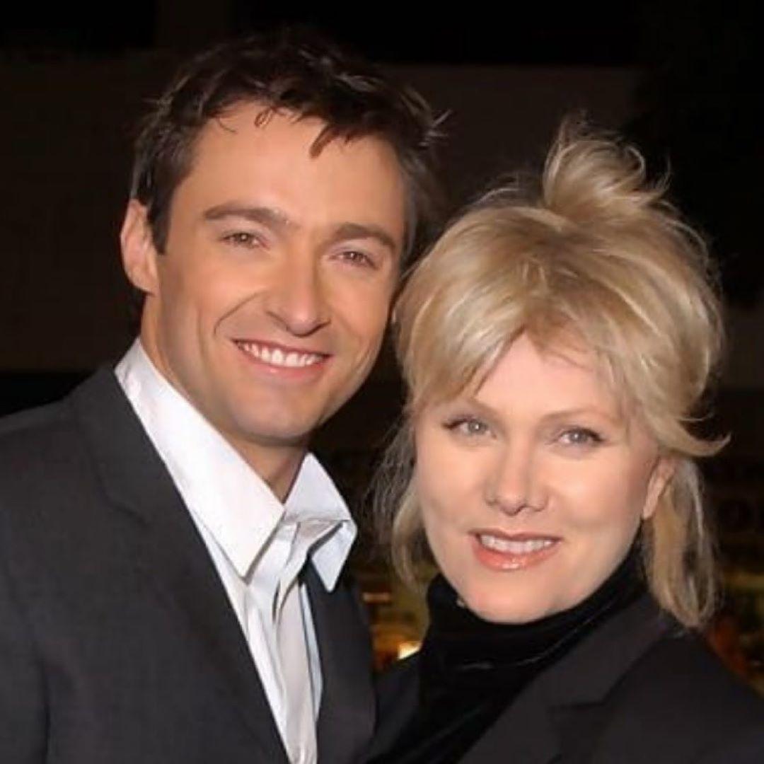 Hugh Jackman y su esposa