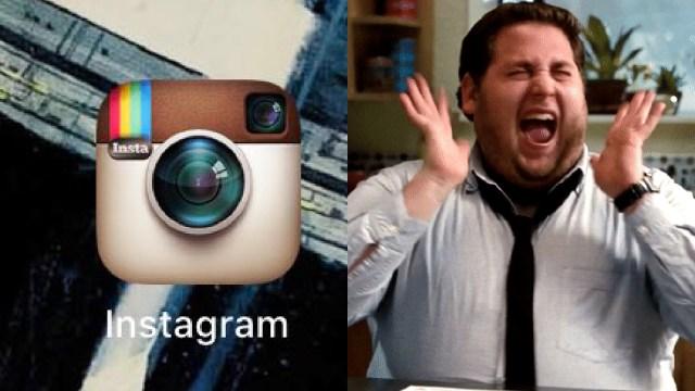 Instagram cambia ícono y estamos como Jonah Hill