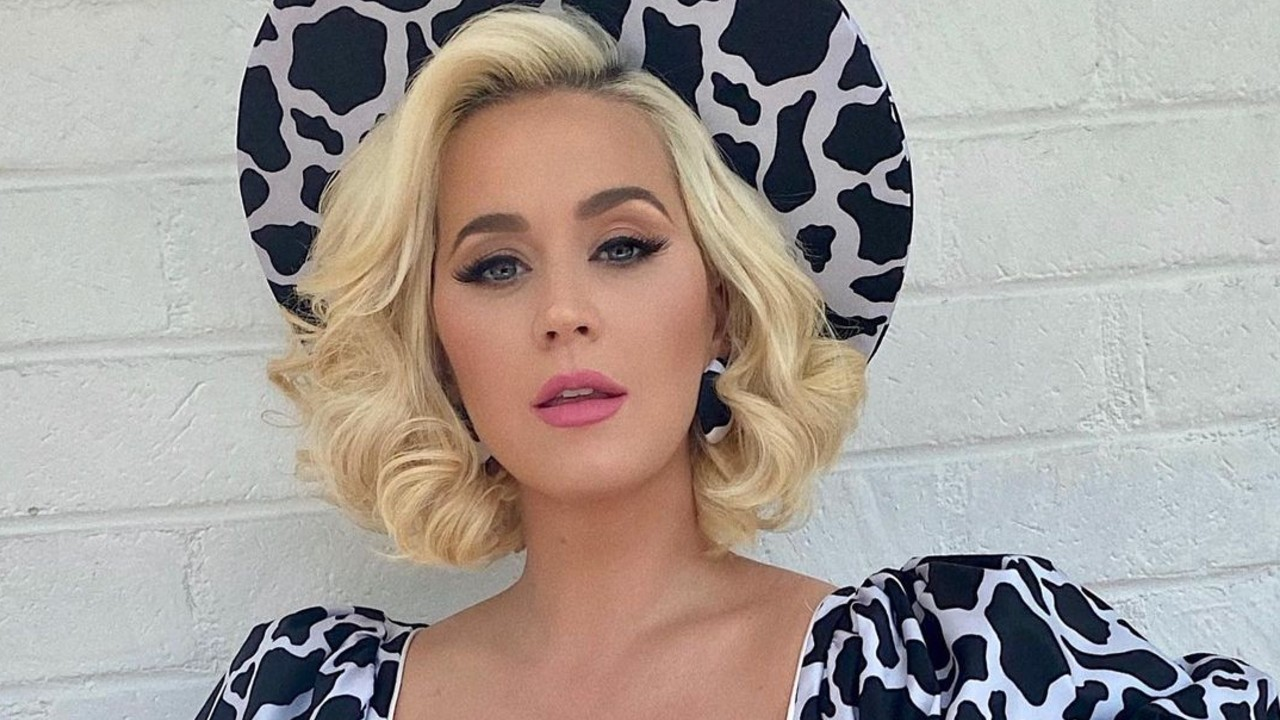 Katy Perry sin maquillaje