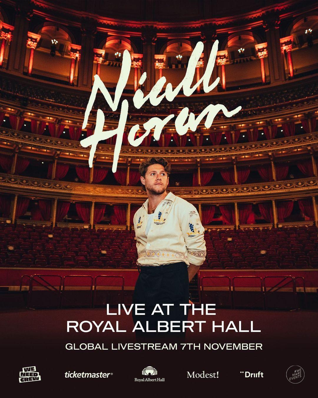 Niall Horan realizara concierto en streaming