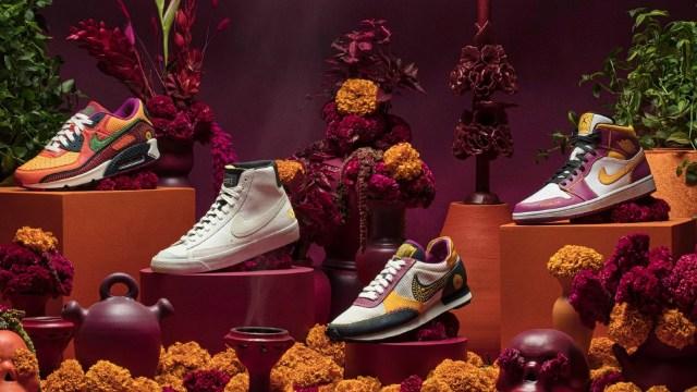 Nike de Día de Muertos