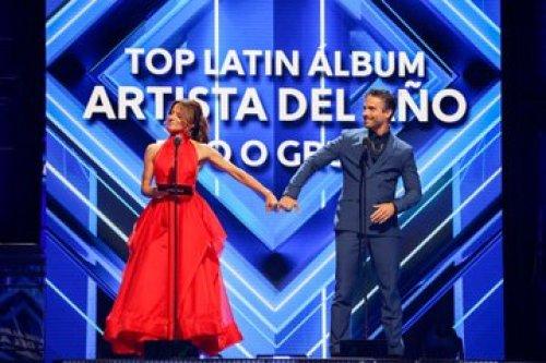Silvia Navarro en los premios billboard