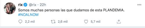 Twiiter del youtuber mexicano Rix