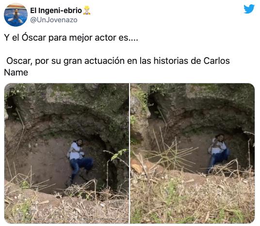 Carlos name amigo caida