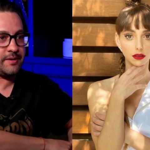 Chumel Torres y Natalia Téllez