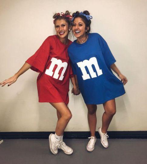 Disfraz pareja M&M