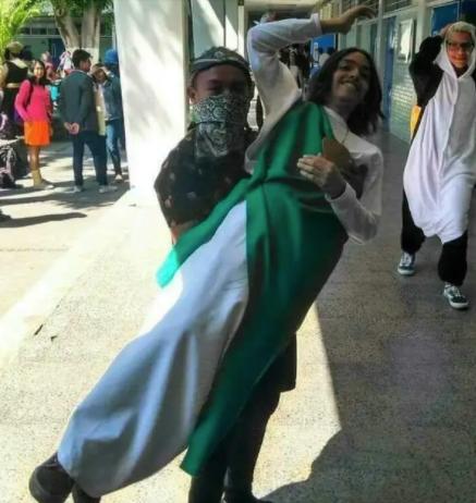 Disfraz pareja San Juditas