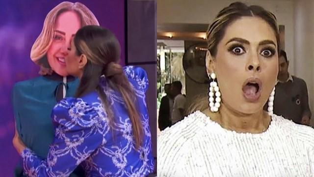 Galilea Montijo confiesa que quiere besar a dos famosas actrices