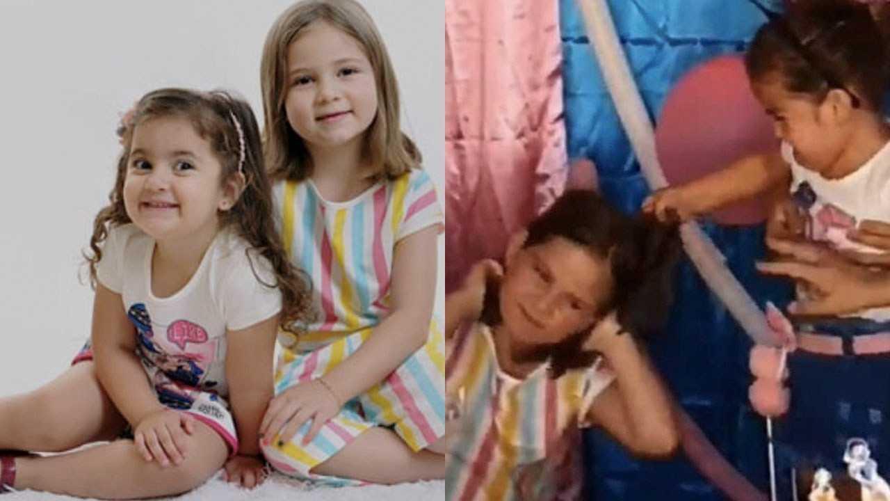 Ella son las niñas de la pelea del pastel que se volvieron virales