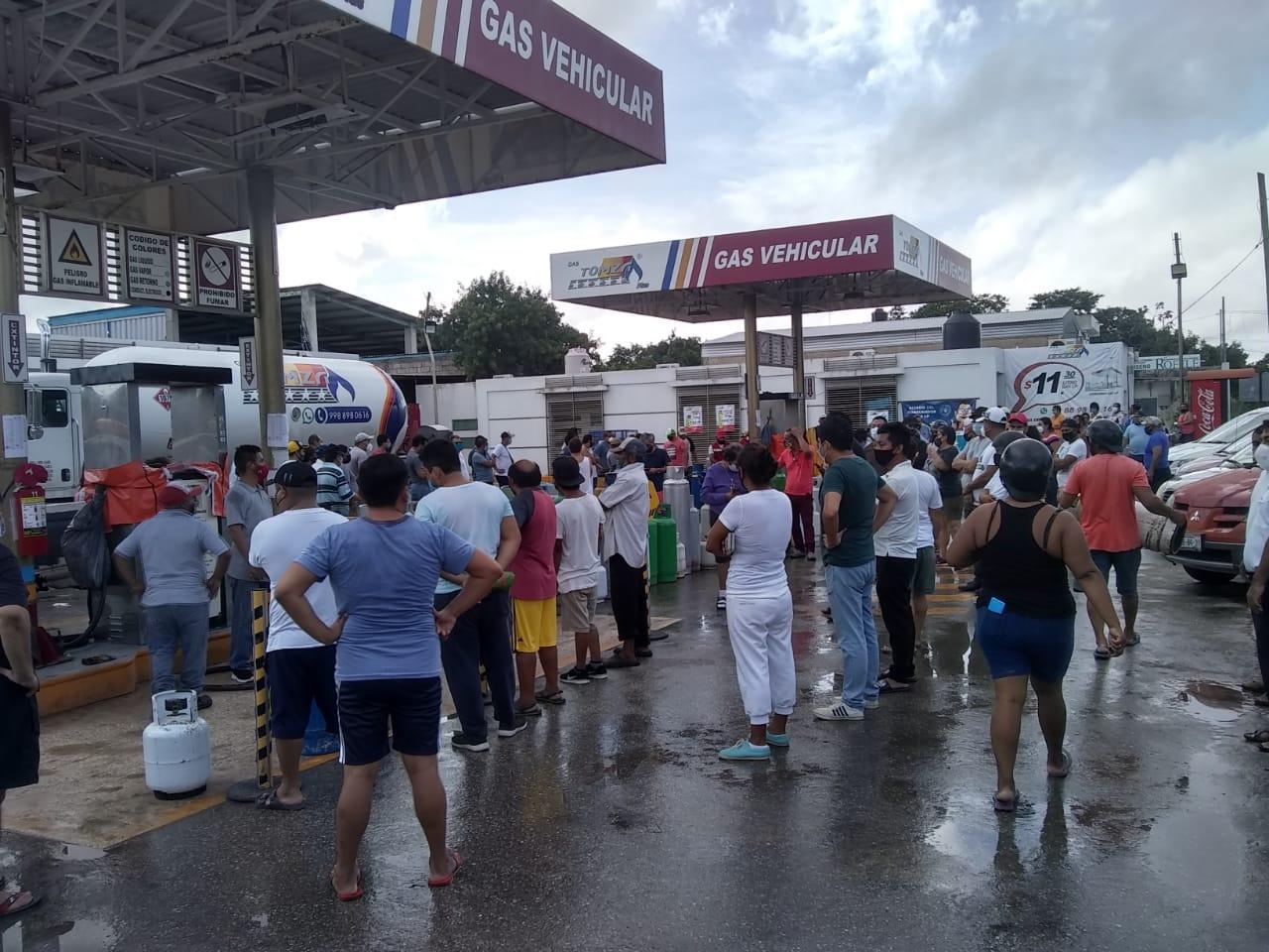 Trasladan delfines a alberca por huracán Delta en Quintana Roo gasolineras hacen fila
