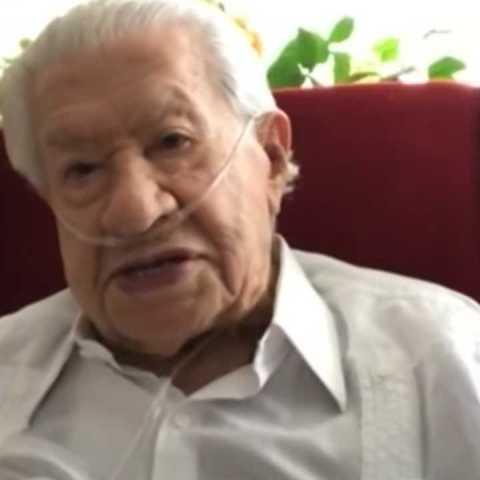 Ignacio López Tarso reaparece con tanque de oxígeno; preocupa su estado de salud