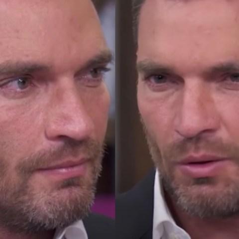 Julián Gil llora por su hijo