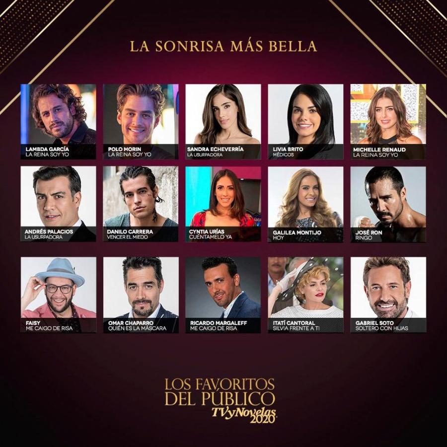 Premios TVyNovelas 2020 nominados