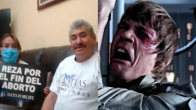 """Critican a """"El Lobo Vásquez"""" por salir en promoción provida"""