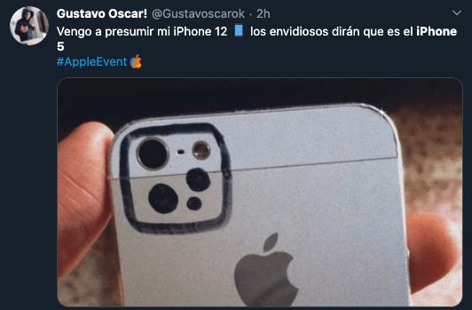 Meme iPhone 12 parece 5