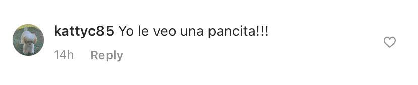 Comentario Instagram