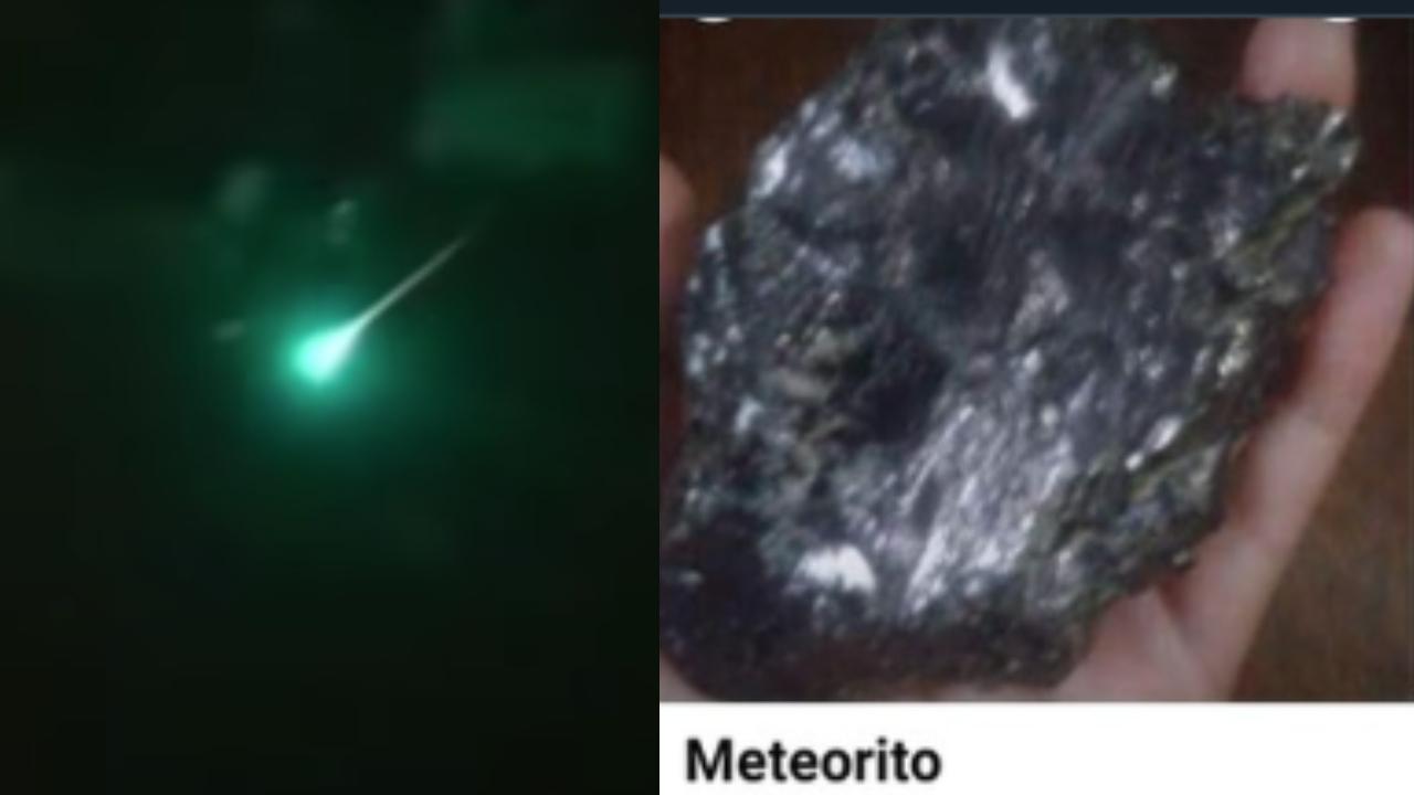 regios venden meteorito Monterrey