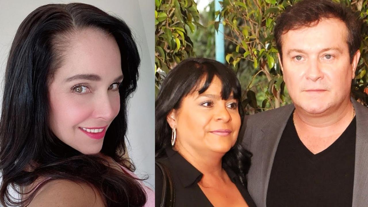 Sharis Cid, Arturo Peniche y su esposa pasan el fin de semana juntos en familia