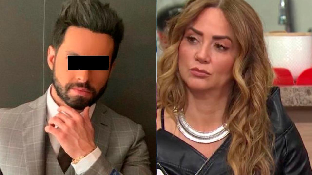 Andrea Legarreta ataca a Eleazar Gómez