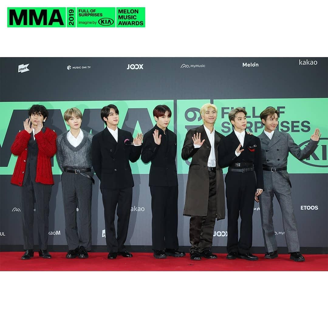BTS confirma asistencia a los MMA