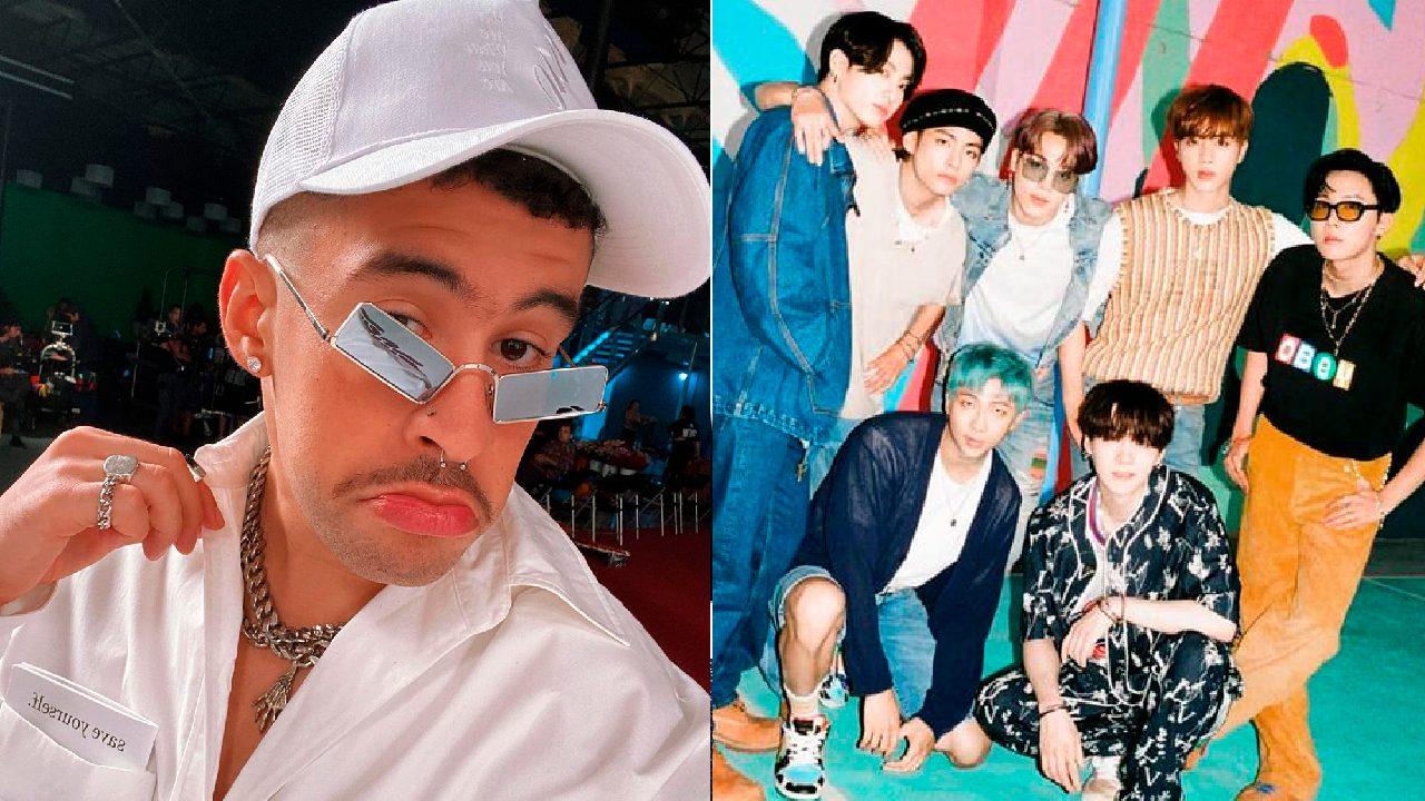 Bad Bunny con BTS