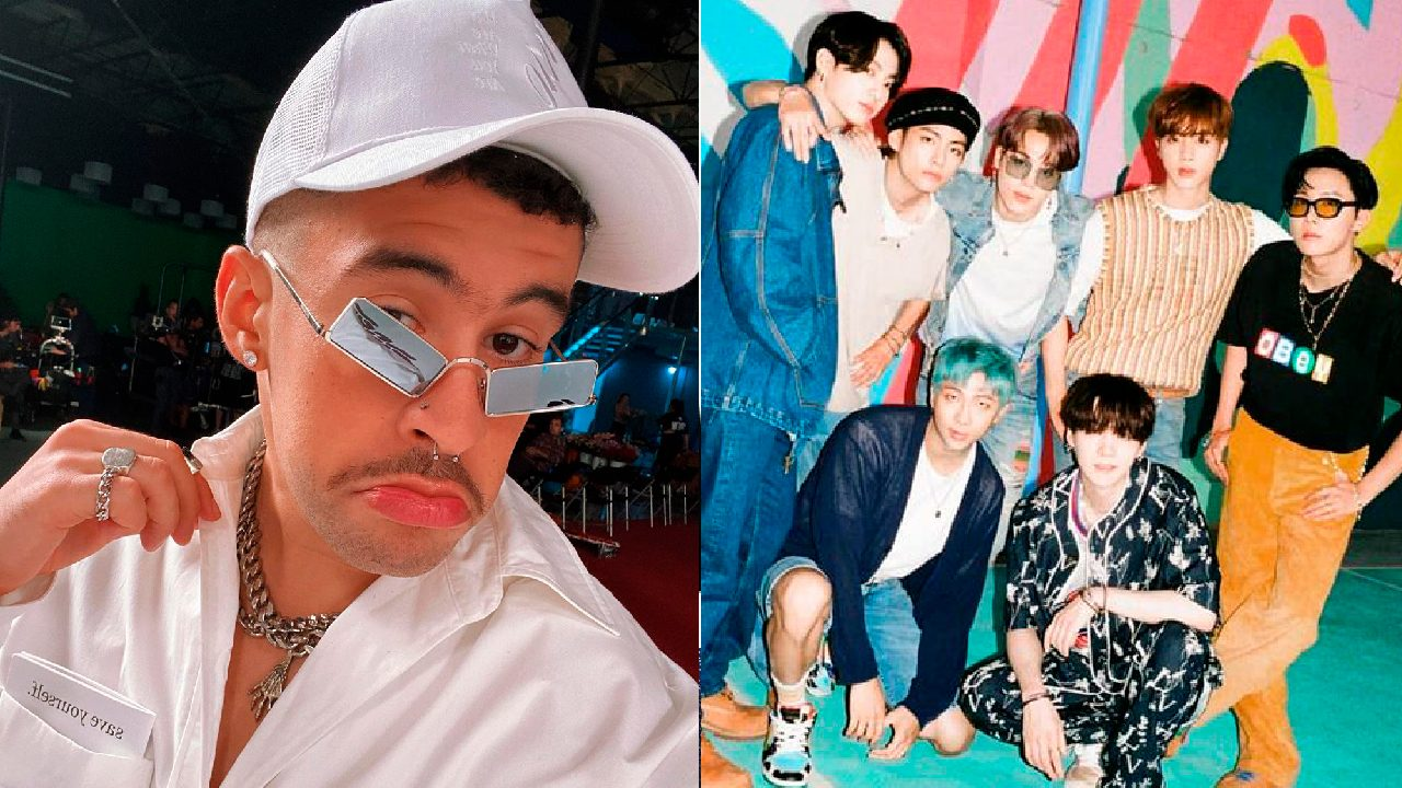 Bad Bunny con BTS