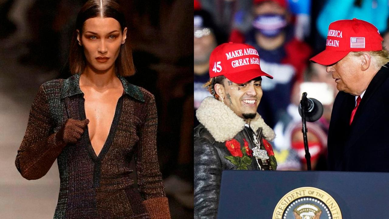 Bella Hadid Lil Pump y Donald Trumpy