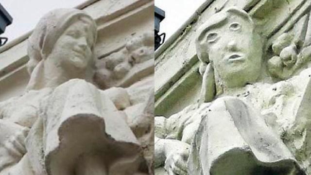 Ecce Homo en Palencia españa