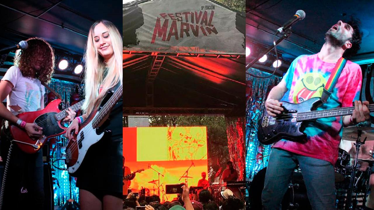 Fechas y cartel festival marvin 2020
