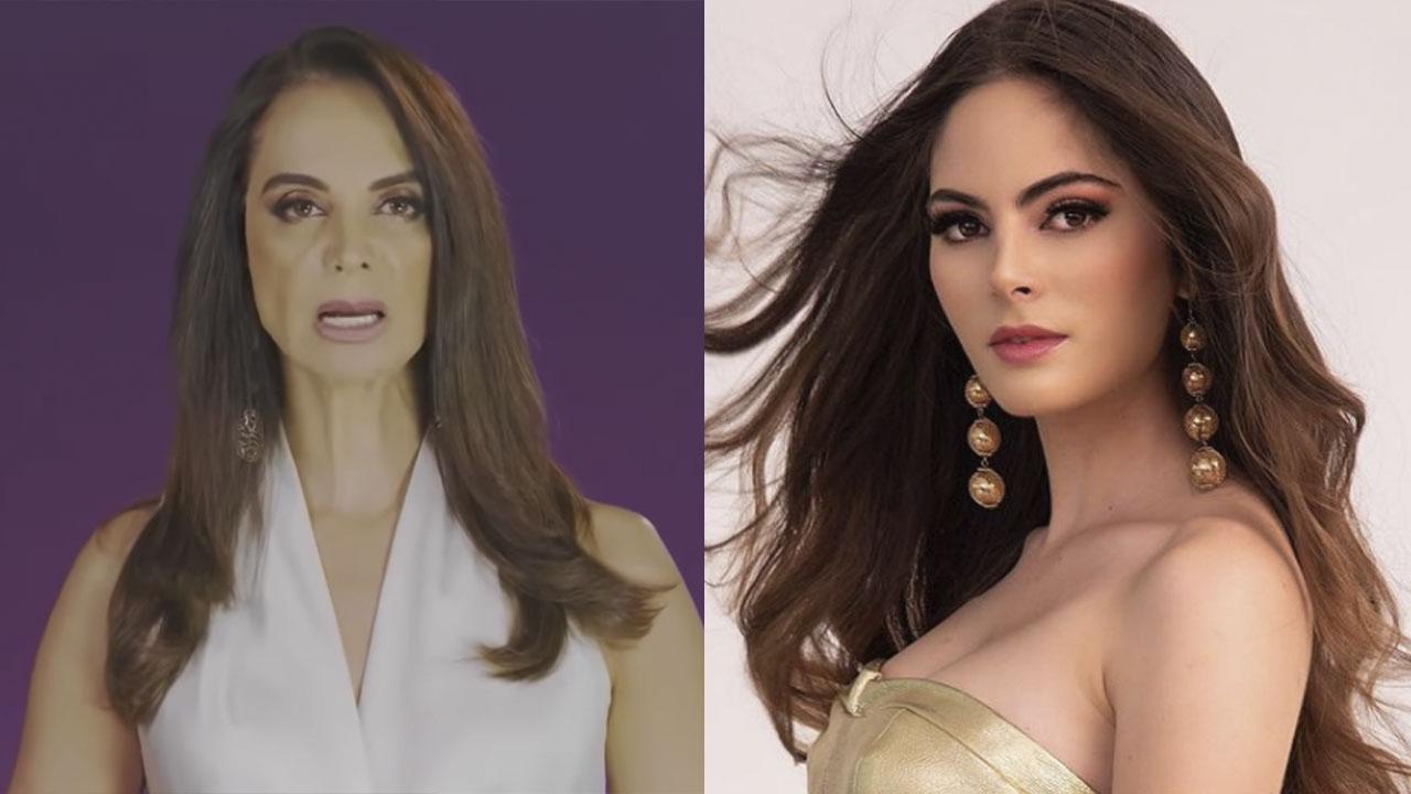 Lupita Jones se disculpa públicamente con Sofía Aragón