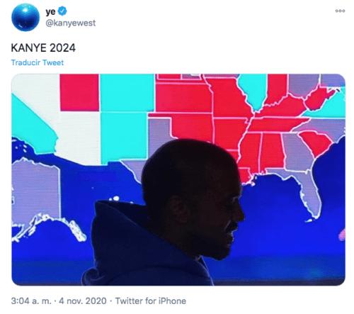 Kanye West anuncia candidatura para 2024