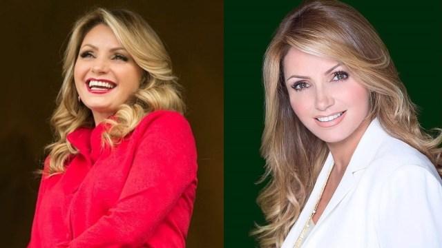 Angelica Rivera sonriendo