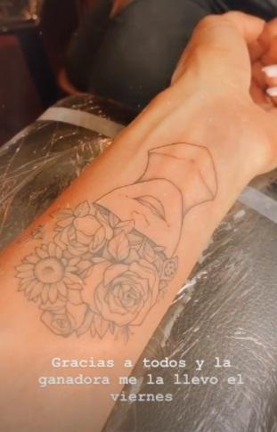 Bárbara de regil tatuaje de ella misma