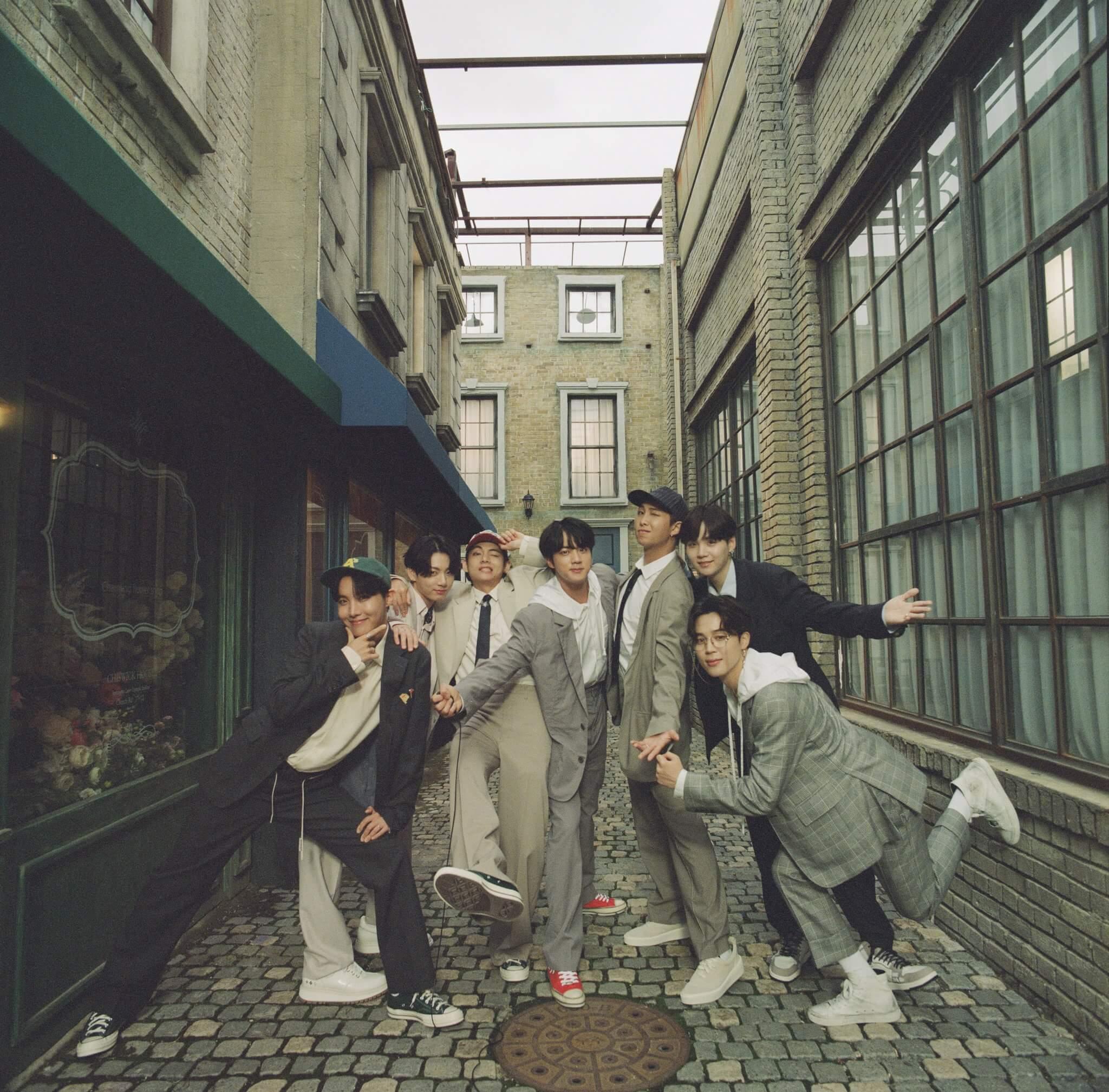 BTS nominación a los grammys