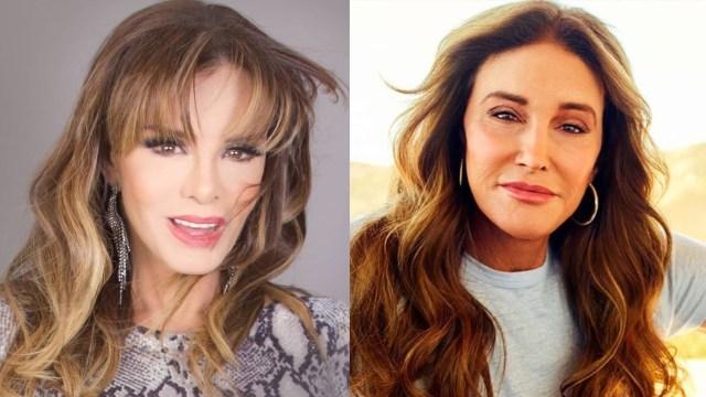 Lucía Méndez y Caitlyn Jenner