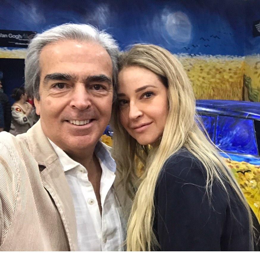 Lorenzo lazo y novia Lourdes Pelaez
