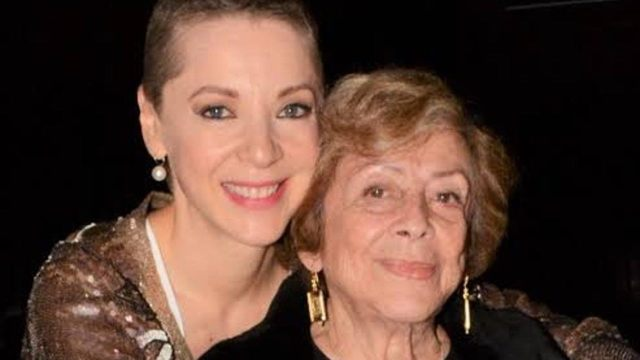 Murió la mamá de Edith González, Ofelia Fuentes
