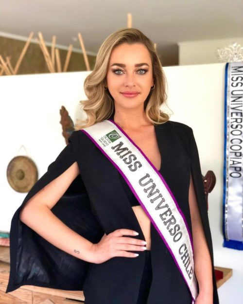 Daniela Nicolás Miss Chile en instagram