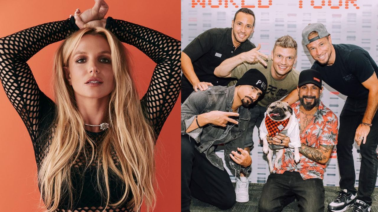 Britney Spears y los Backstreet Boys