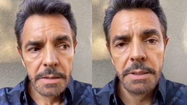 """Eugenio Derbez se burla de víctimas de violencia digital y bromea con un video """"tocándose"""""""