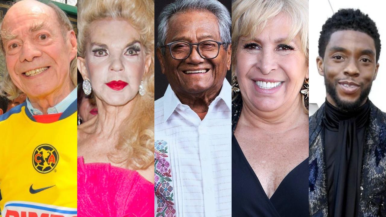 Los famosos que murieron este 2020