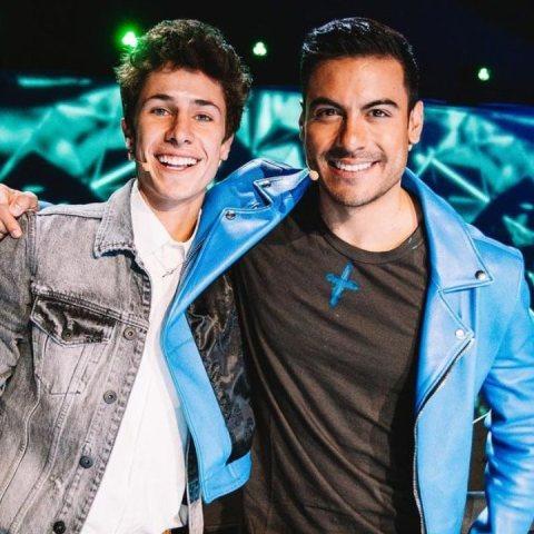 Juanpa Zurita y Carlos Rivera