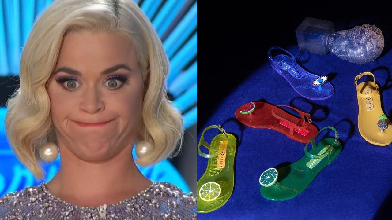 Katy Perry sandalias