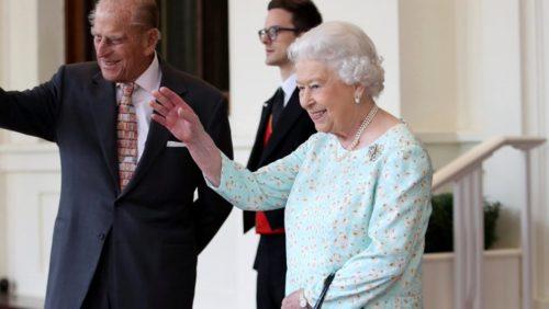 Foto Reina Isabel II con su esposo Felipe de Edimburgo