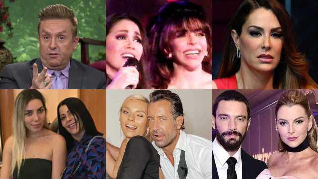 Los mejores chismes de famosos del 2020 que marcaron el año