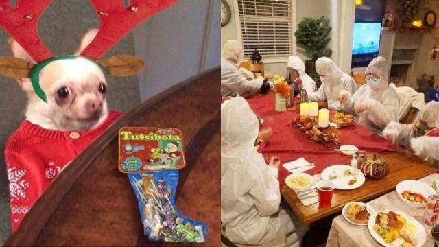 Memes de cena de navidad