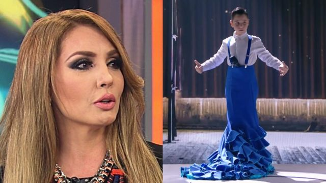 Paty Navidad explota contra niño que cantó con vestido en Idol Kids