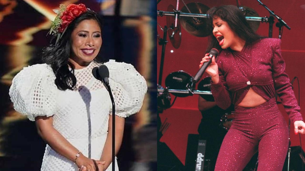 Yalitza Aparicio y Selena Quintanilla