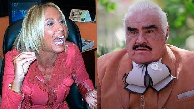 Laura Bozzo le grita a Vicente Fernández